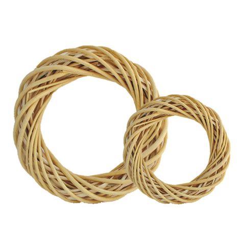 Ring Rotan Diameter 25cm peeled wicker ring the essentials company