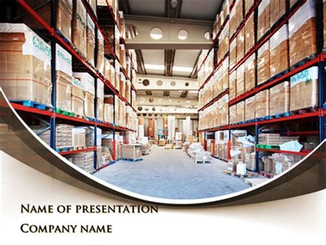 presentation warehouse layout warehouse presentation template for powerpoint and keynote