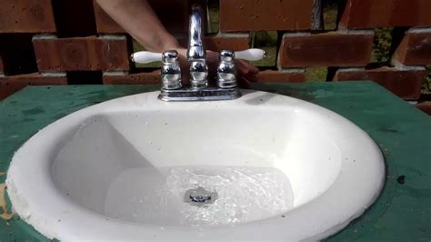 how to fix a clogged sink how to fix a clogged sink drain youtube