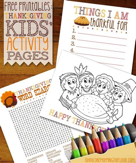 printable thanksgiving crafts 18 free thanksgiving printables 18 free thanksgiving