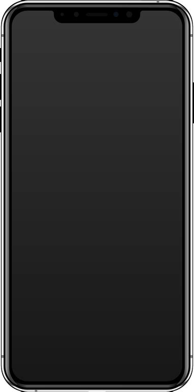 file iphone xs max silver svg wikimedia commons
