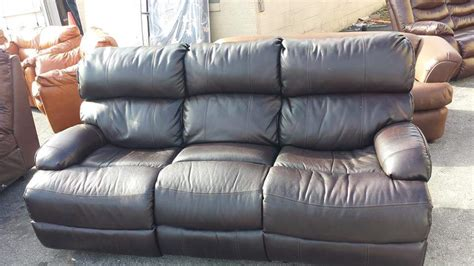 nice leather sofa nice powered reclining leather sofa all4u