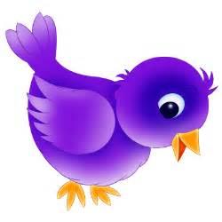 blue bird cartoon bird clip art
