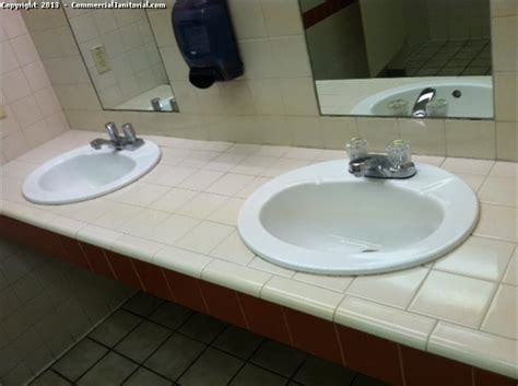 cleaning bathroom sink public bathroom sink cleaning image