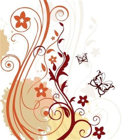 wallpaper bingkai abstrak abstrak latar belakang vector floral vektor gratis