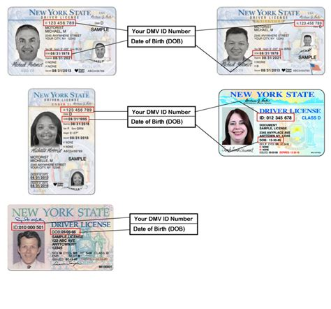 Address Lookup By Drivers License Number Sle Driver License Learner Permit Non Driver Id 21 New York State Dmv