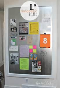 Kitchen Cabinets Utah diy magnetic board