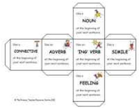 printable guided reading dice guided reading activity dice