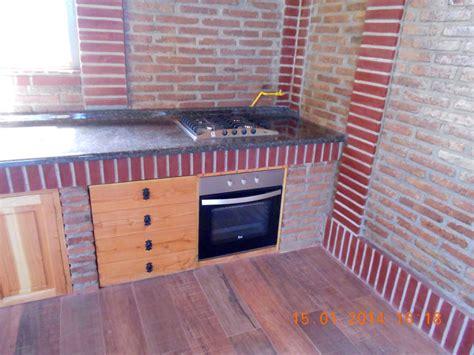encimera y horno a gas foto cocina encimera a gas y horno electrico para quincho
