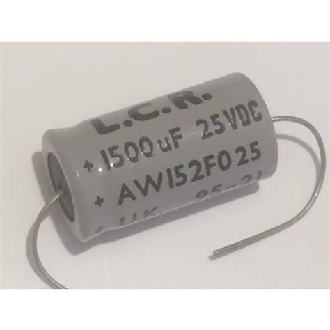 kapasitor audio grade 1500uf 25v lcr axial electrolytic audio grade capacitor fbb29 5