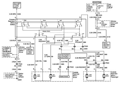2002 Cadillac Escalade Wiring Diagram