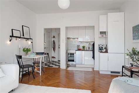 small kitchen design for apartments charming 26 sqm apartment in sweden offering the best of
