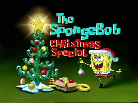 spongebob christmas song who specials wiki