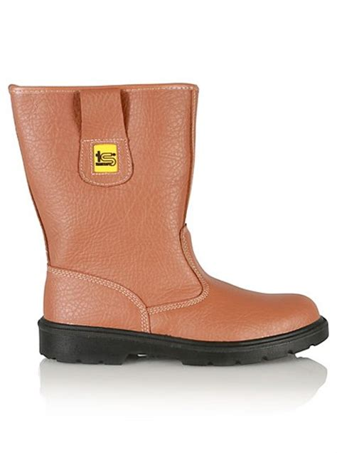 safety steel toe cap rigger boots george at asda
