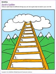 jacob ladder activity kids korner biblewise