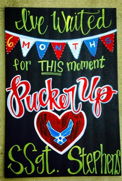 military welcome home decorations military homecoming chalkboard sign deployments over