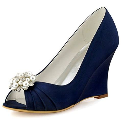 Blue Bridal Wedges by 1000 Ideas About Bridal Wedges On White