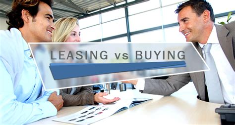 leasing a house vs buying auto leasing vs buying a car