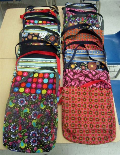 Handmade Book Bags - handmade book bags support reading program trillium