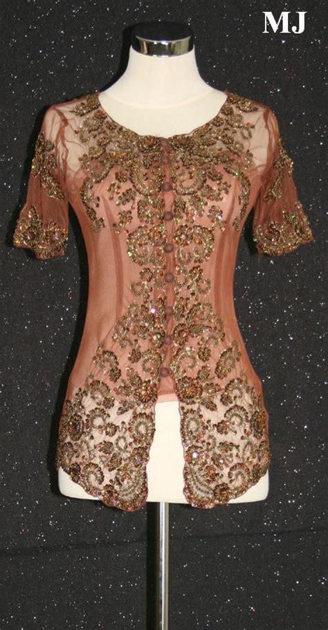 Blouse Brukat Semi Kebaya blouse dress and suit in kebaya modern simple my fashions kebaya blouse