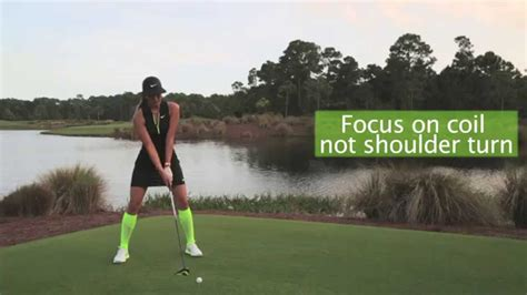 swing thoughts golf michelle wie 3 swing thoughts for better drives golf