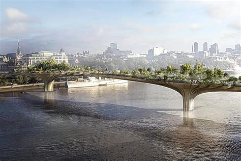 Garden Bridge by Garden Bridge Caign Receives 163 2million Boost