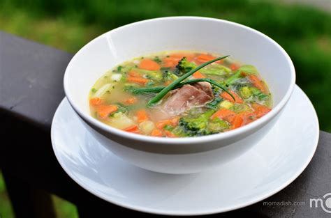 vegetable soup mom s dish