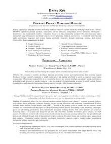 Product Marketing Manager Resume Example Gallery For Gt Product Marketing Manager Resume