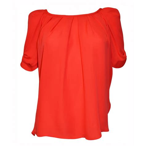 top blouse joie eleanor silk blouse top in cherry