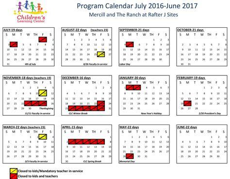 Clc Calendar Childcare Preschool Options Children S Learning Center