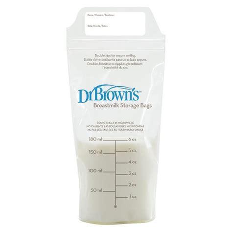 Dr Brown S Breastmilk Storage Bags 4 dr brown s breast milk storage bags 50 count target