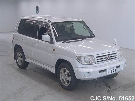 mitsubishi pajero io 2000 2000 mitsubishi pajero io pearl for sale stock no 51652