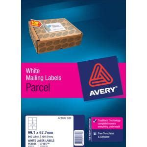 99 1 x 67 7 mm label template avery shipping labels with trueblock for laser printers