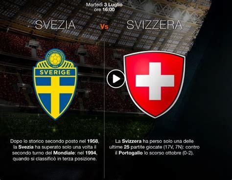 svezia svizzera highlights pagelle mondiali 2018 blitz
