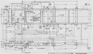 frame blueprint for 56 chevy shortbed the 1947 present