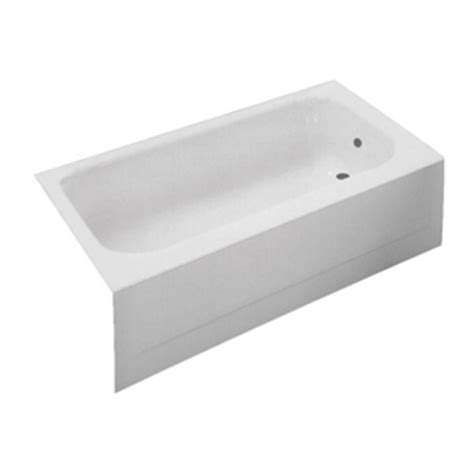 Proflo Bathtubs by Pfb16lswh 60 X 30 Soaking Tub White At