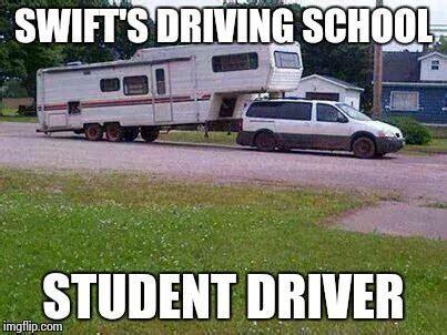 Driving School Meme - redneck trucker imgflip