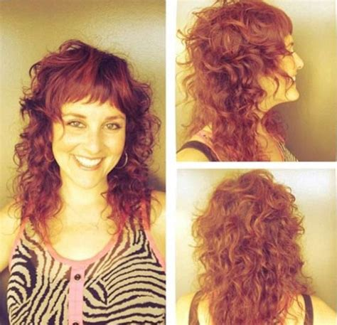 halfway hairstyles over 50 curly layered haircuts with bangs haircuts models ideas