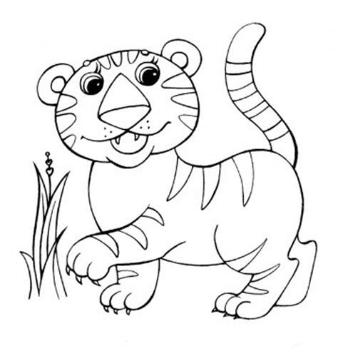 jungle baby coloring pages baby animals printing pages creative children