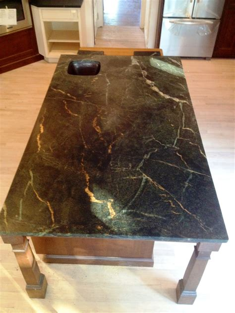 Soapstone Island Countertop by 17 Best Images About Soapstone Countertops On