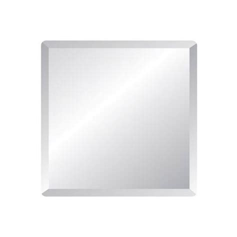36 inch bathroom mirror regency 36 inch square beveled edge mirror spancraft wall