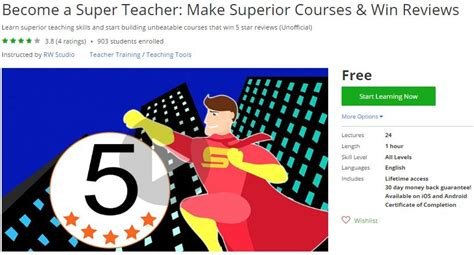 educator how to teach with superior skills and success books udemy coupon become a make superior
