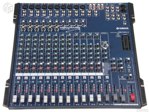 Harga Mixer Audio 4 Channel Yamaha photo yamaha mg166cx yamaha console de mixage mg166cx