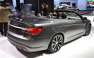 2016 Chrysler 200 Convertible 2016 Chrysler 200 Convertible Release Date Price