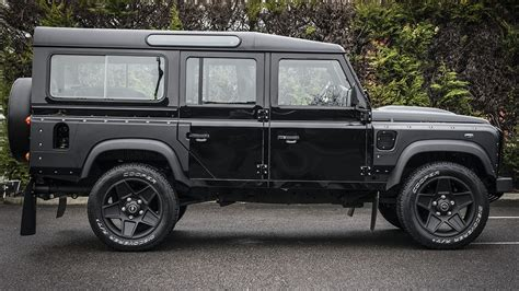 land rover truck bond drive like 007 in the chelsea truck co black land