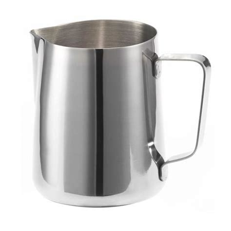 Milk Pitcher Spout 450cc milk steaming jug pitcher 350ml stainless steel with spout espresso co nz