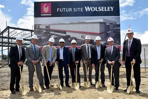 Wolseley Heating And Plumbing by Wolseley Breaks Ground On 130 000 Sq Ft Facility