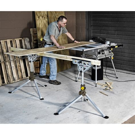 Jawhorse Work Table Rockwell Rk9033 Jawhorse Work Support Portable Jawstand