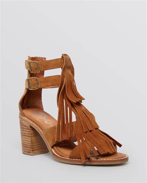 gladiator sandals with heel jeffrey cbell gladiator sandals dodge block heel in