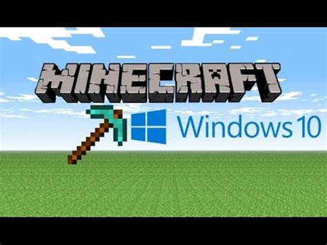 windows 10 minecraft tutorial 3 tutorial como jugar minecraft en windows 10 youtube